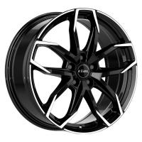 Литой колесный диск Rial Lucca Diamond Black Front Polished 6,5x17 4x100 ET38 D63,3